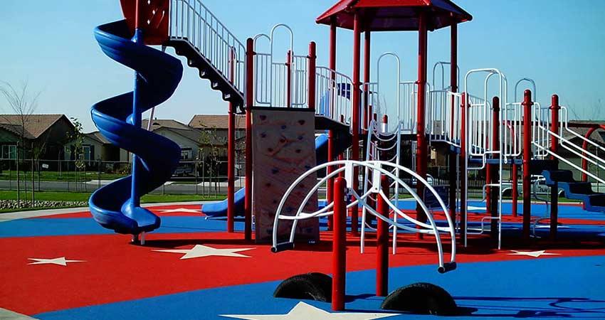 Plastic, Rubber & Foam Playground