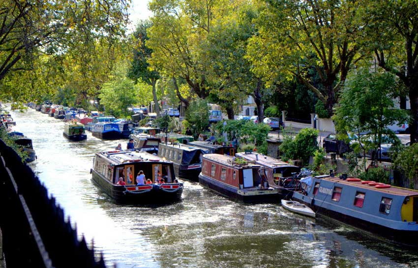 Boat Ride in Little Venice
