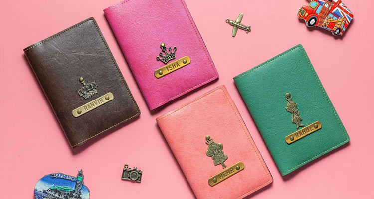 the passport holders for a frequent flyer