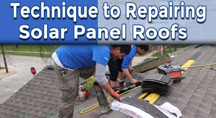 Professional Technique to Repairing Solar Panel Roofs